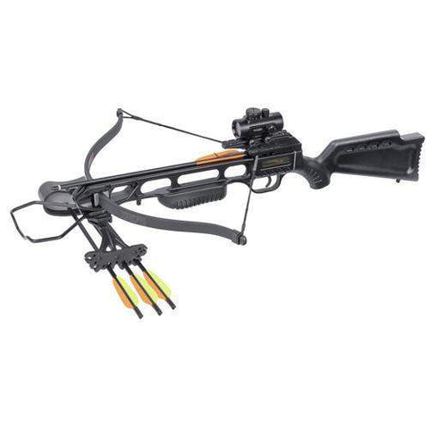 XR175 Recurve Crossbow Package - Black