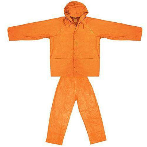Youth All-Weather Rain Suit - Small-Medium, Orange