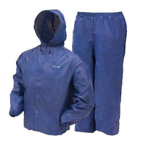 Youth Ultra-Lite Rain Suit - Blue, Large