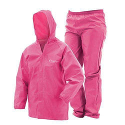 Youth Ultra-Lite Rain Suit - Pink, Large