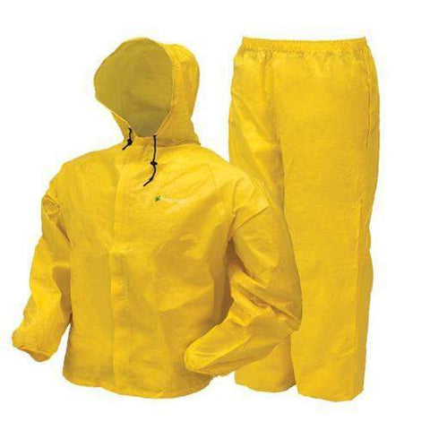 Youth Ultra-Lite Rain Suit - Yellow, Large