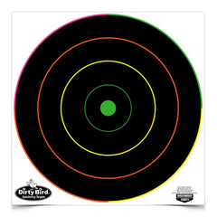 "Dirty Bird Multi-Color Bull's-Eye - 12"" (Per 500)"