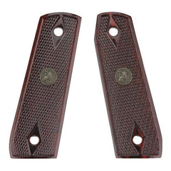 Renegade Wood Laminate Pistol Grips - Ruger 22-45, Rosewood, Checkered