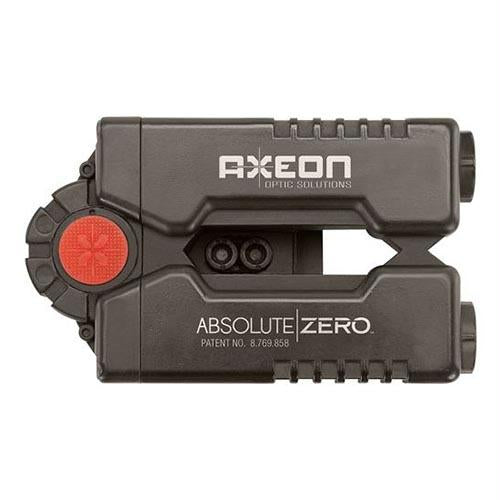 Absolute Zero Sight-In Device with Red Laser, Black