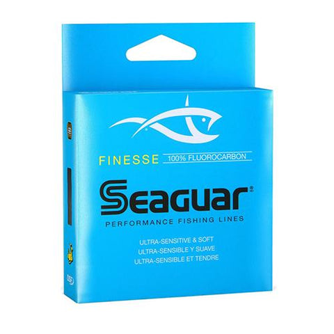 "Finesse Freshwater Fluorocarbon Line - .009"" Diameter, 8.40 lb Tested, 150 Yards, Clear"
