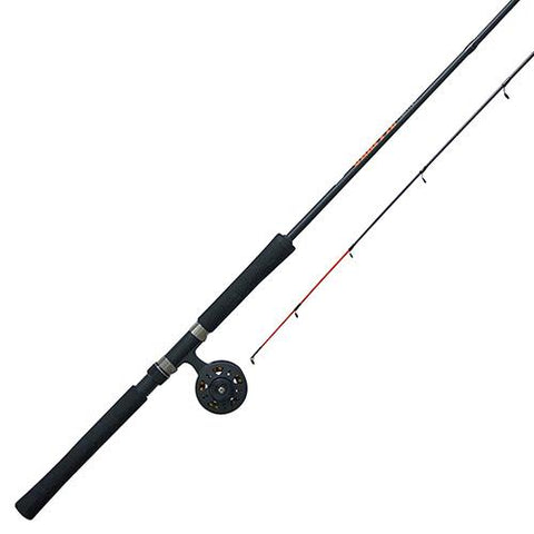 Crappie Fighter Fly Combo, 1.1 Gear Ratio, 8' 2pc Rod, 4-10 lb Line Rate
