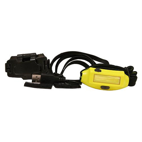 Bandit Headlamp with ith Clip - Yellow, Boxed