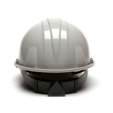 SL Series 4 Point Ratchet Suspension Hard Hat - Gray