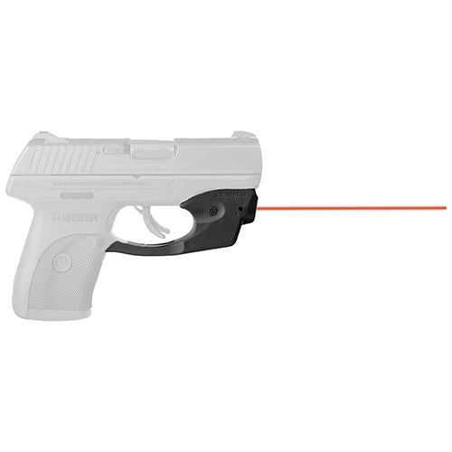 CenterFire Laser Sight - with Grip Sense, Ruger LC9-EC9, Red Laser, Black