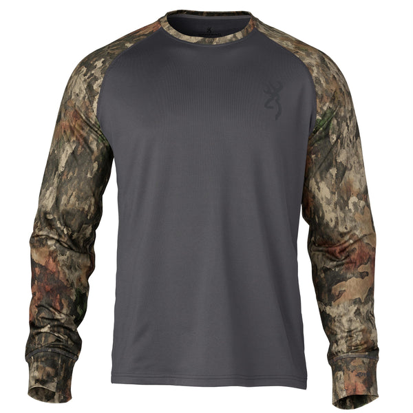 Hell's Canyon Speed Riser-FM Shirt - Long Sleeve, ATACS Tree-Dirt Extreme, X-Large