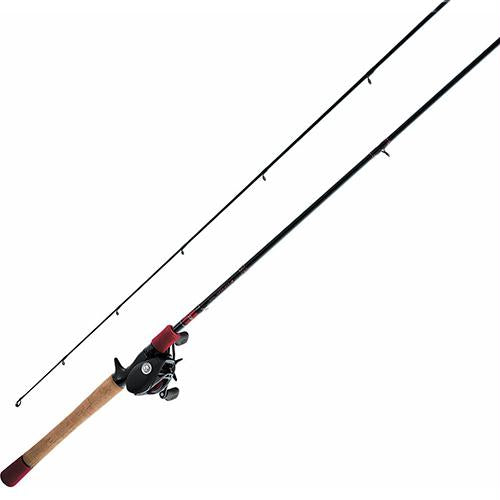 Fuego Baistcasting Combo - 7.3:1 Gear Ratio, 7' Length, 1 Piece, Medium-Heavy Power, Right Hand