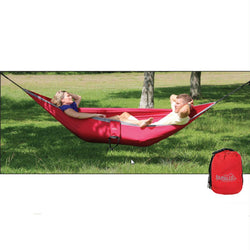 Rambler Double Hammock, Chili Pepper-Gray