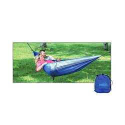 Rambler Double Hammock - Navy Blue-Brilliant Blue