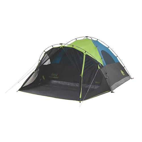 6 Person Dark Room Fast Pitch Dome Tent with Screen Room