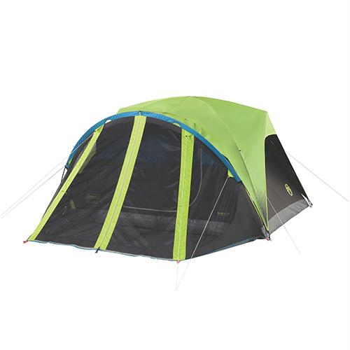 Dark Room Fast Pitch Dome Tent with Screen Room - 4 Person