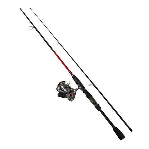 Optix Spinning Combo - 5, 5.2:1 Gear Ratio, 5' Length 2pc, 2-6 lb Line Rate, UL Power, Ambidextrous