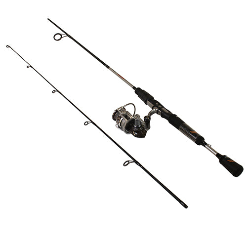 Throttle Spinning Combo - 10, 5.3:1 Gear Ratio, 5' Length 2pc, 2-6 lb Line Rate, Fast Action, Ambidextrous