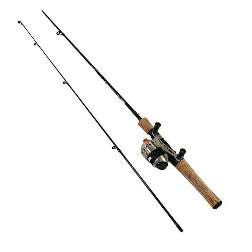 33Micro Spincast Combo - 4.3:1 Gear Ratio, 6' Length 2pc, 2-6 lb Line Rate, Ultra Light Power