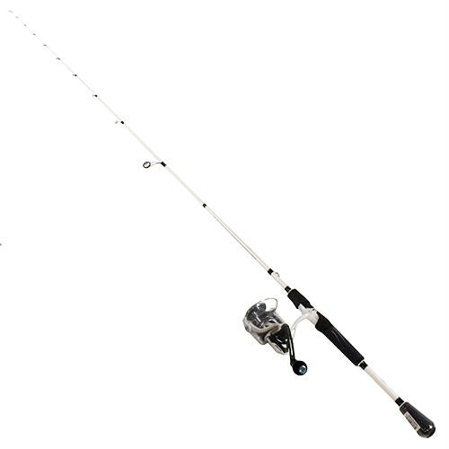Mach Inshore Speed Spin Spinning 1 Piece Combo - 6.2:1 Gear Ratio, 35