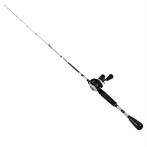 Mach Inshore Speed Spool SLP Baitcasting Combo - 7.5:1 Gear Ratio, 15 lb Max Drag, 7' Length, 1 Piece, Medium Power, Ambidextrous