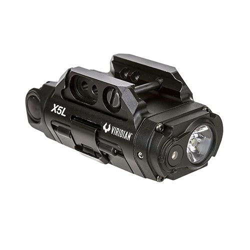 X5L Gen 3 Universal Green Laser, 500 Lumens Tactical Light and HD Camera, Black