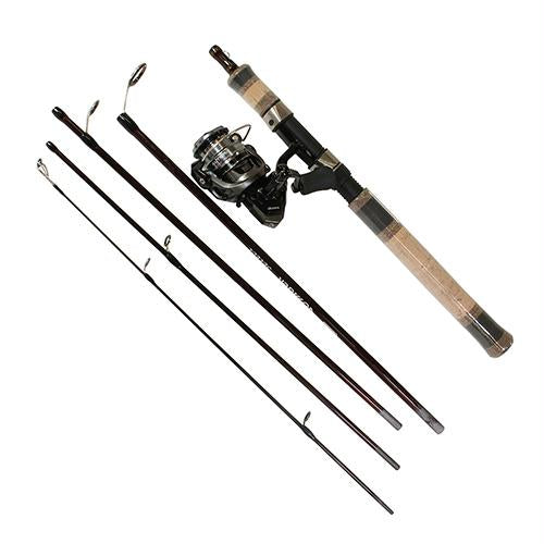Voyager Select Spinning Combo - 20, 4.8:1 Gear Ratio, 6' Length, 5 Pieces, 6-10 lb Line Rate, Ambidextrous