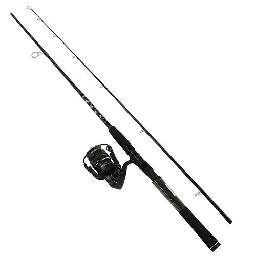 Pursuit III Saltwater Spinning Combo - 4000, 6.2:1 Gear Ratio, 7' Length 2pc, 10-17 lb Line Rating, Medium Power, RH-LH