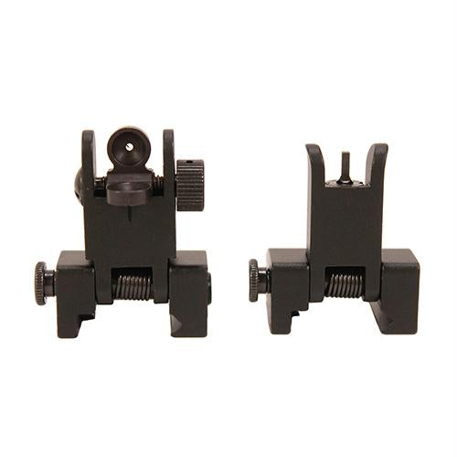 Front and Rear Sight Set, Spring Loaded