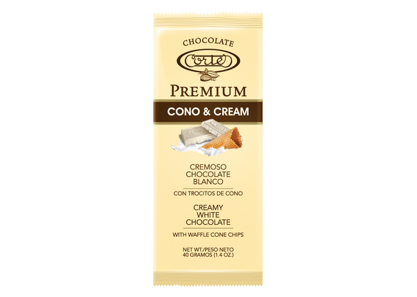 Chocolate Cortés Premium White Chocolate Bar 1.4oz