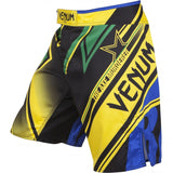 "VENUM ""WAND'S CONFLICT"" FIGHTSHORTS - YELLOW/BLUE/GREEN - MMAoutfit - 2"
