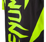 VENUM HURRICANE X FIT™ T-SHIRT - BLACK/NEO YELLOW - MMAoutfit - 6