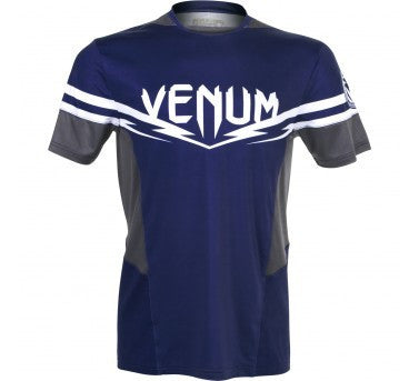 VENUM SHARP 2.0 DRY TECH™ T-SHIRT - BLUE/GREY - MMAoutfit - 1