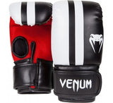 "VENUM ""ELITE"" BAG GLOVES - BLACK/ICE/RED - MMAoutfit - 1"