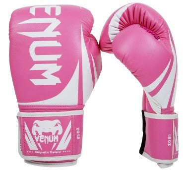 "VENUM ""CHALLENGER 2.0"" BOXING GLOVES - PINK - MMAoutfit - 1"