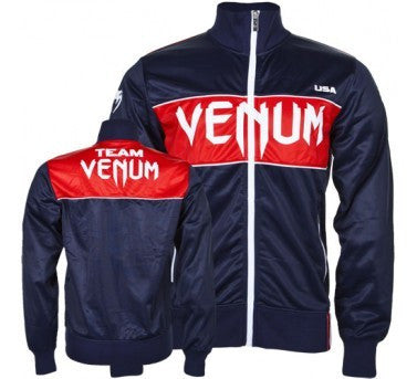 "Venum ""Team USA"" Polyester jacket - Navy - MMAoutfit - 1"