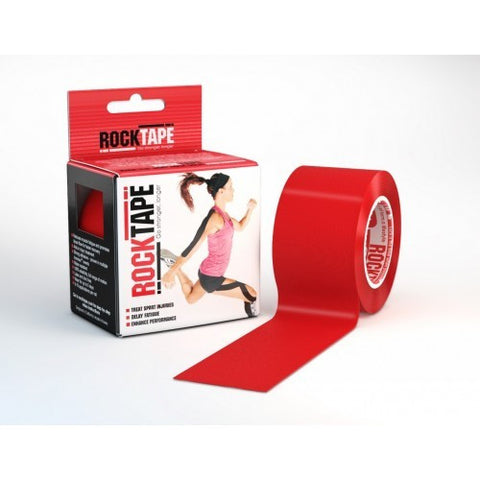 RockTape Active-Recovery Series Tape 5M - Red - MMAoutfit - 1