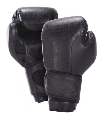 BAD BOY LEGACY BOXING GLOVES - BLACK - MMAoutfit - 1