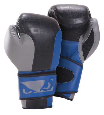 BAD BOY LEGACY BOXING GLOVES - BLUE/BLACK - MMAoutfit - 1