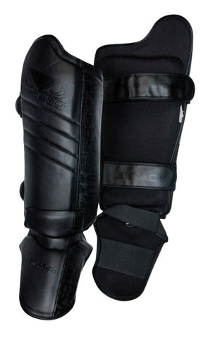 BAD BOY LEGACY THAI SHIN GUARDS - BLACK - MMAoutfit - 1