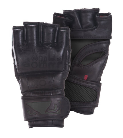 BAD BOY LEGACY MMA GLOVES - BLACK - MMAoutfit