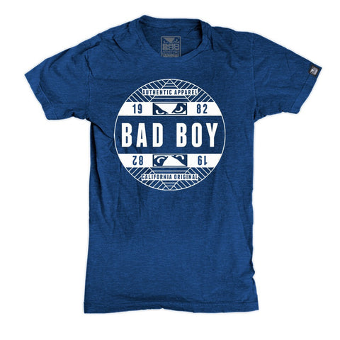 BAD BOY OFFICIAL T-SHIRT - BLUE - MMAoutfit