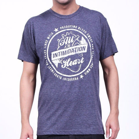 INTIMIDATION ALL HEART SHIRT - NAVY - MMAoutfit - 1