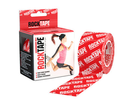 RockTape Active-Recovery Series Tape 5M - Red Logo - MMAoutfit - 1