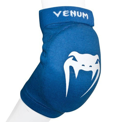 "VENUM ""KONTACT"" ELBOW PROTECTOR COTTON - BLUE - MMAoutfit"