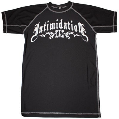 INTIMIDATION RASHGUARD - BLACK - MMAoutfit