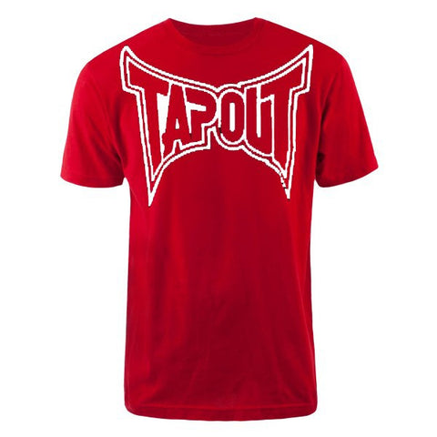 TAPOUT CLASSIC COLLECTION T-SHIRT - RED/WHITE - MMAoutfit