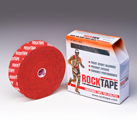 RockTape Active-Recovery Series Tape  (W5cm x L32m) Bulk - Red Logo