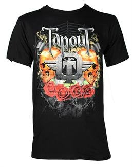 TAPOUT SCARED SHIRT - BLACK
