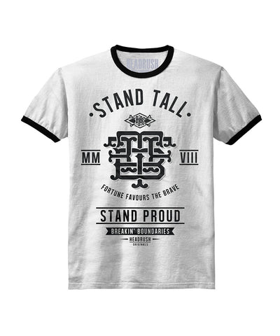 HEADRUSH STAND TALL MONOGRAM SHIRT WHITE - MMAoutfit