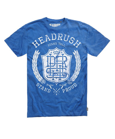 HEADRUSH HDRS MONOGRAM WREATH BLUE - MMAoutfit - 1